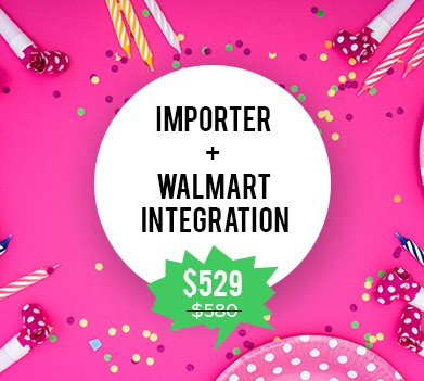 Offers on Importer & Walmart Integration - CedCommerce